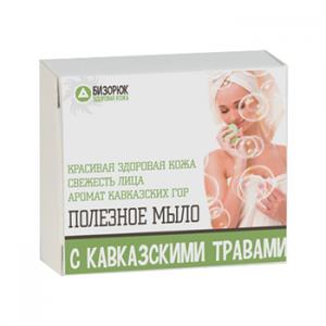 Мыло с кавказскими травами